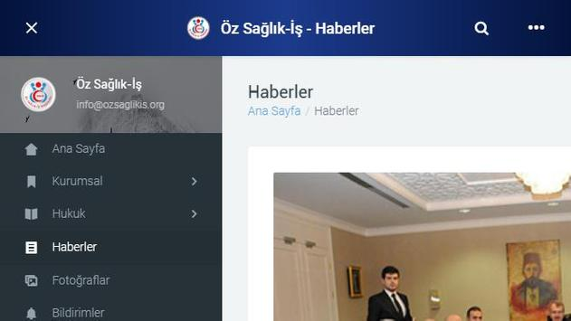 Öz Sağlık-İş Sendikası screenshot 9