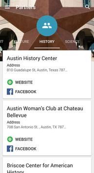 Austin Museum Partnership screenshot 2