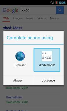 xkcd 2 mobile screenshot 1