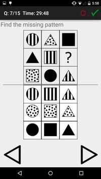 IQ and Aptitude Test Practice screenshot 1