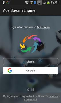 Ace Stream for Android TV penulis hantaran