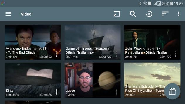 Ace Stream Media captura de pantalla 1