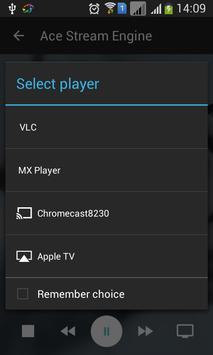Ace Stream Media captura de pantalla 6