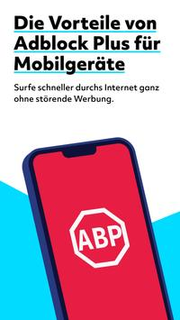 Adblock Browser Plakat