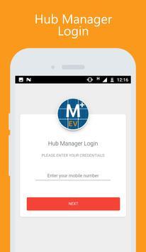 Amplus EV Hub Manager poster