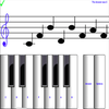 ikon ¼ learn sight read music notes - piano sheet tutor