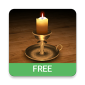 3D Melting Candle Live Wallpaper Free icon