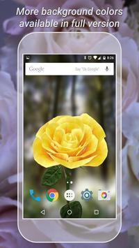 3D Rose Live Wallpaper Free imagem de tela 2