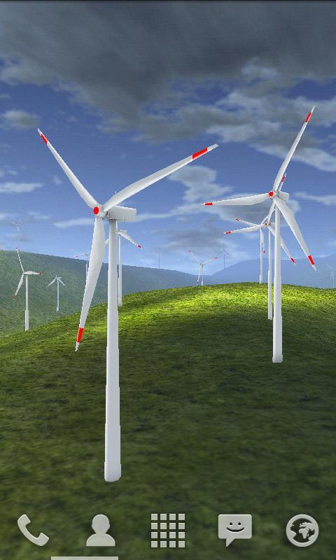 Wind Turbines 3d Live Wallpaper Free For Android Apk Download