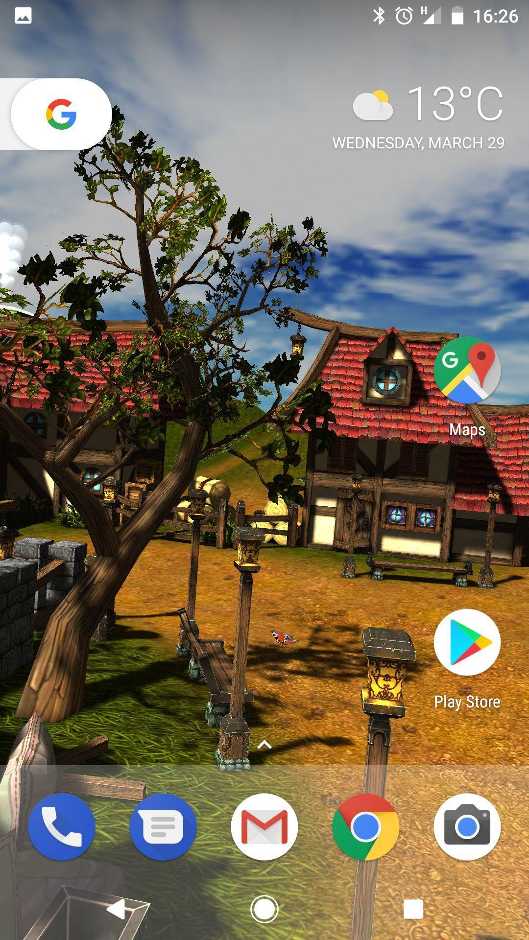 Cartoon Village 3d Live Wallpaper Free For Android Apk