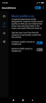 SoundWave screenshot 1