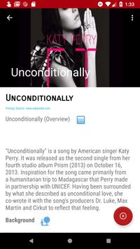 Katty Perry Songs Discography screenshot 6