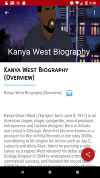Kany'e West Songs Discography screenshot 2