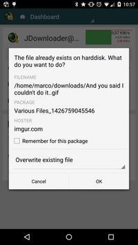 MyJDownloader captura de pantalla 6