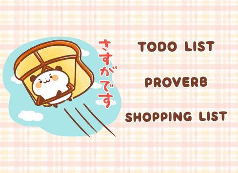 Sticky Note Panda Bread screenshot 5