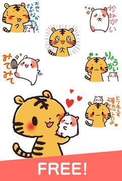 Kansai Cats Stickers Free screenshot 2
