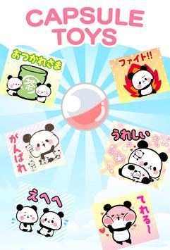 MOCHI MOCHI PANDA Stickers Free screenshot 4