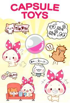 Mochizukin-chan Stickers screenshot 4