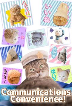 Cats' Hair Hats Stickers Free screenshot 1