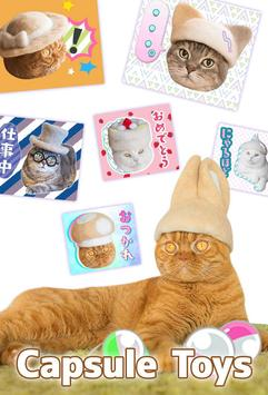Cats' Hair Hats Stickers Free screenshot 2