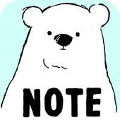 Sticky Note Shirokuma-Days icon