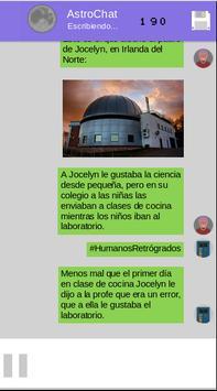 AstroChat Mujeres Espaciales screenshot 4