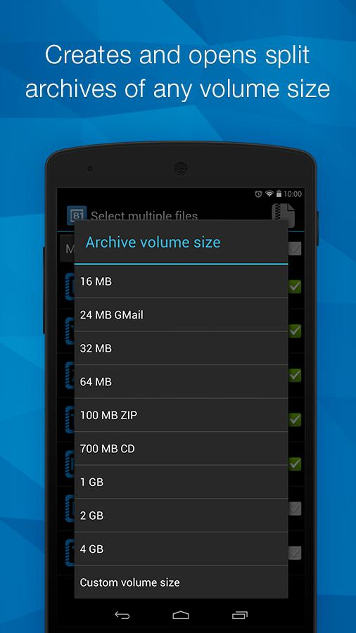 B1 Archiver for Android - APK Download