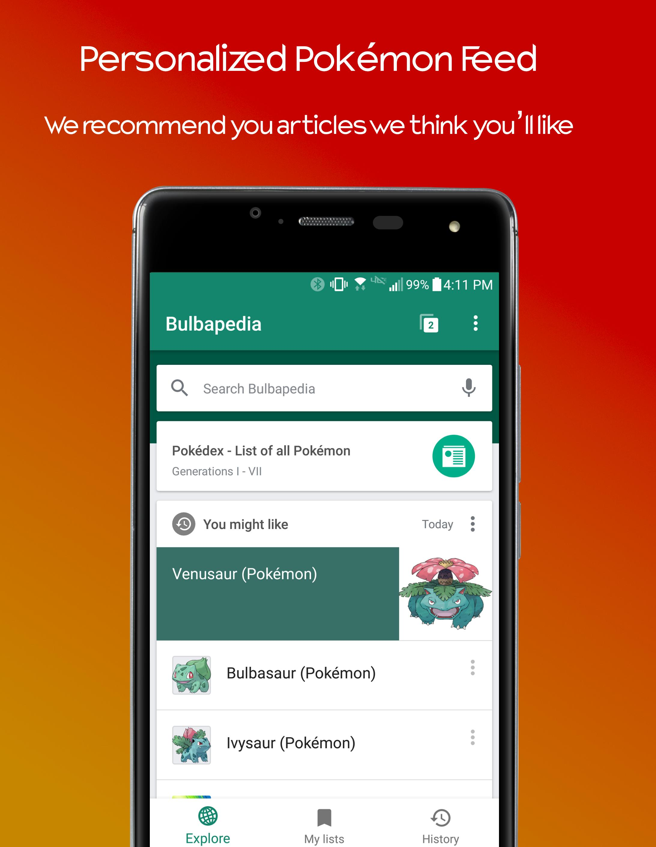Bulbapedia for Android - APK Download