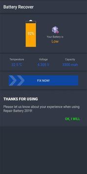 Recuperação da bateria - Aumente a vida útil da bateria Cartaz
