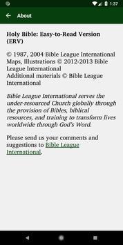 ERV Bible screenshot 5