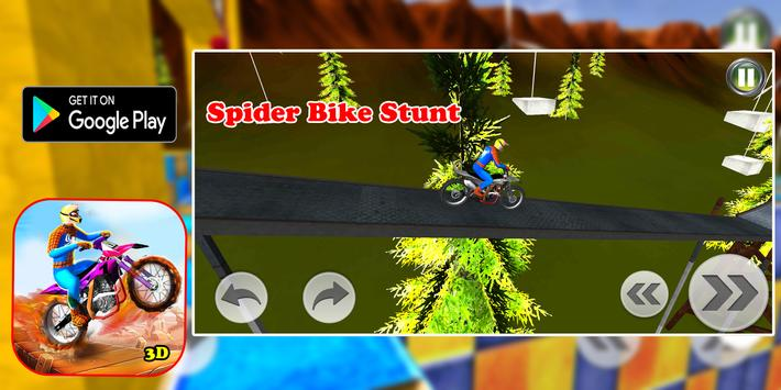 Superhero Bike Stunt 3D Screenshot 2
