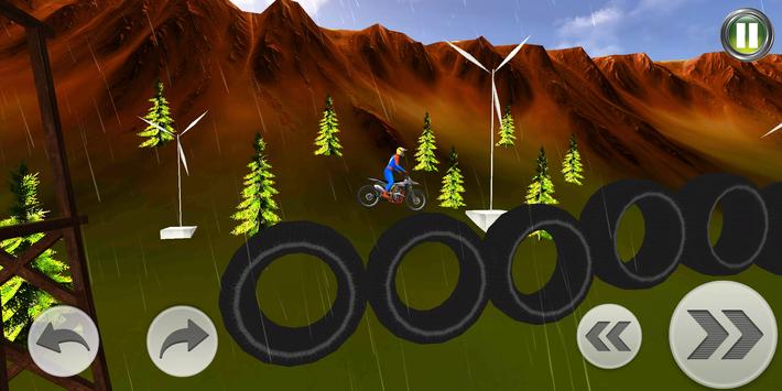 Superhero Bike Stunt 3D Screenshot 4