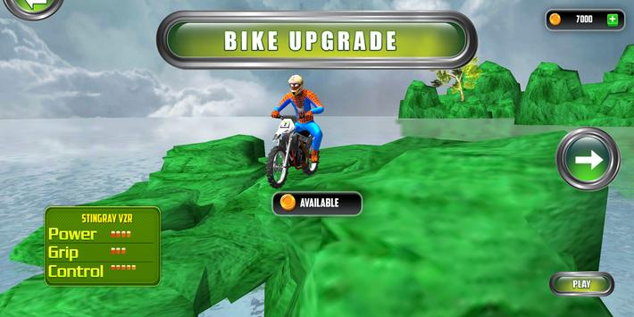 Superhero Bike Stunt 3D Screenshot 9