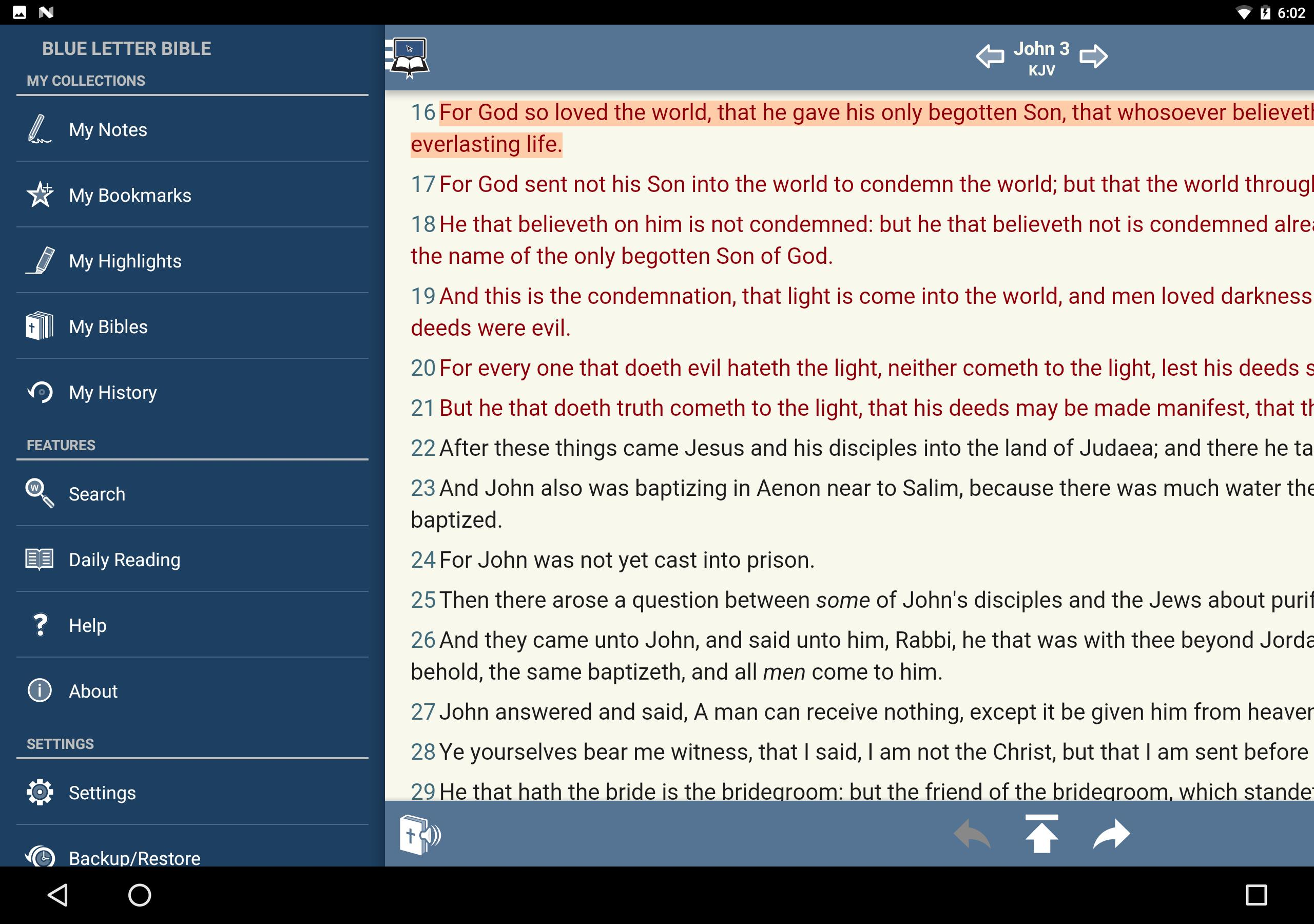 Blue Letter Bible for Android - APK Download