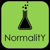 Normality Calculator icon