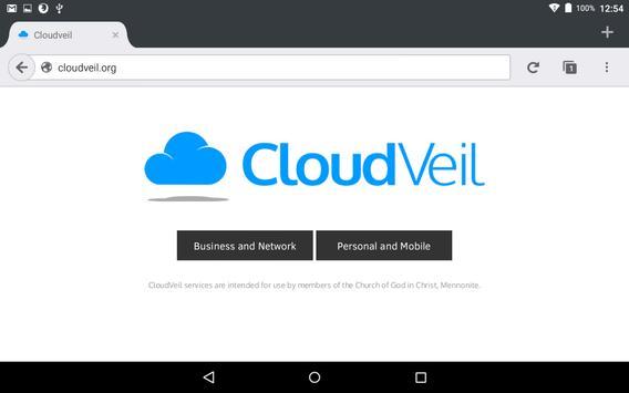 CloudVeil Blue screenshot 13