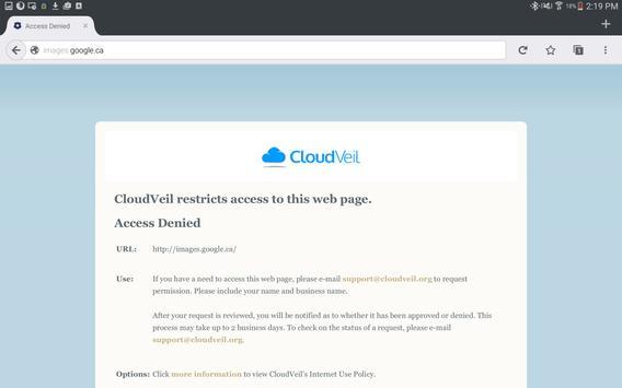 CloudVeil Blue screenshot 6