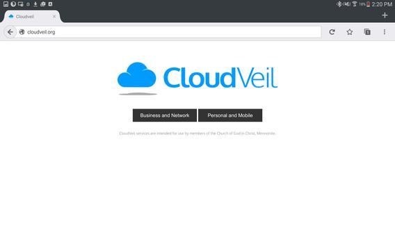 CloudVeil Blue screenshot 8