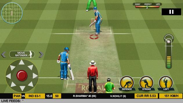 Real Cricket™ 17 スクリーンショット 11