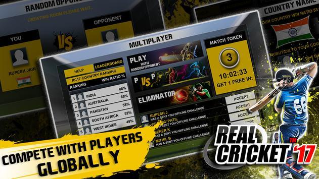 Real Cricket™ 17 スクリーンショット 1
