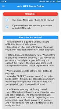 60 Fps Arena of Valor (AoV) HFR Mode Unlock Guide para Android - APK