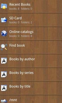 Cool Reader скриншот 3