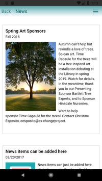 Hinsdale Public Library poster