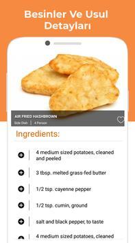 sağlıklı yemek tarifleri ebook - ücretsiz yemek Ekran Görüntüsü 6