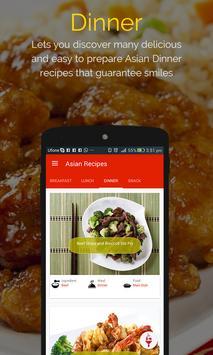Asian Recipes captura de pantalla 2