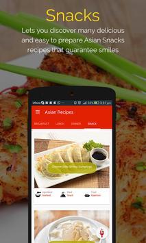 Asian Recipes captura de pantalla 3