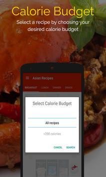 Asian Recipes captura de pantalla 4
