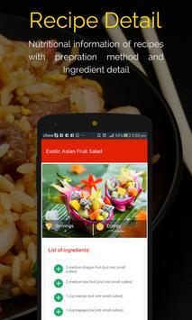 Asian Recipes captura de pantalla 5
