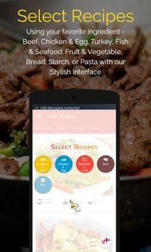 Asian Recipes captura de pantalla 7