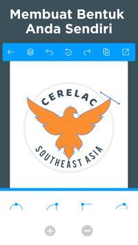 Pembuat Logo - Buat Desain Logo Dan Grafis Icon screenshot 11